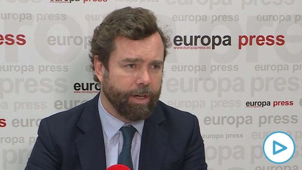Espinosa de los Monteros cree que PSOE y Podemos escenificarán una ruptura cuando quieran elecciones