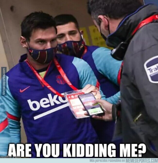 The best memes of the defeat of Barcelona in the Spanish Super Cup