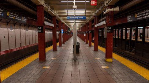 Metro de Nueva York. Fuente: Europa Press