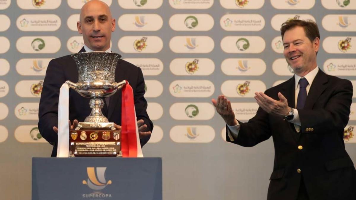 Rubiales no dará el trofeo de la Supercopa en esta edición.