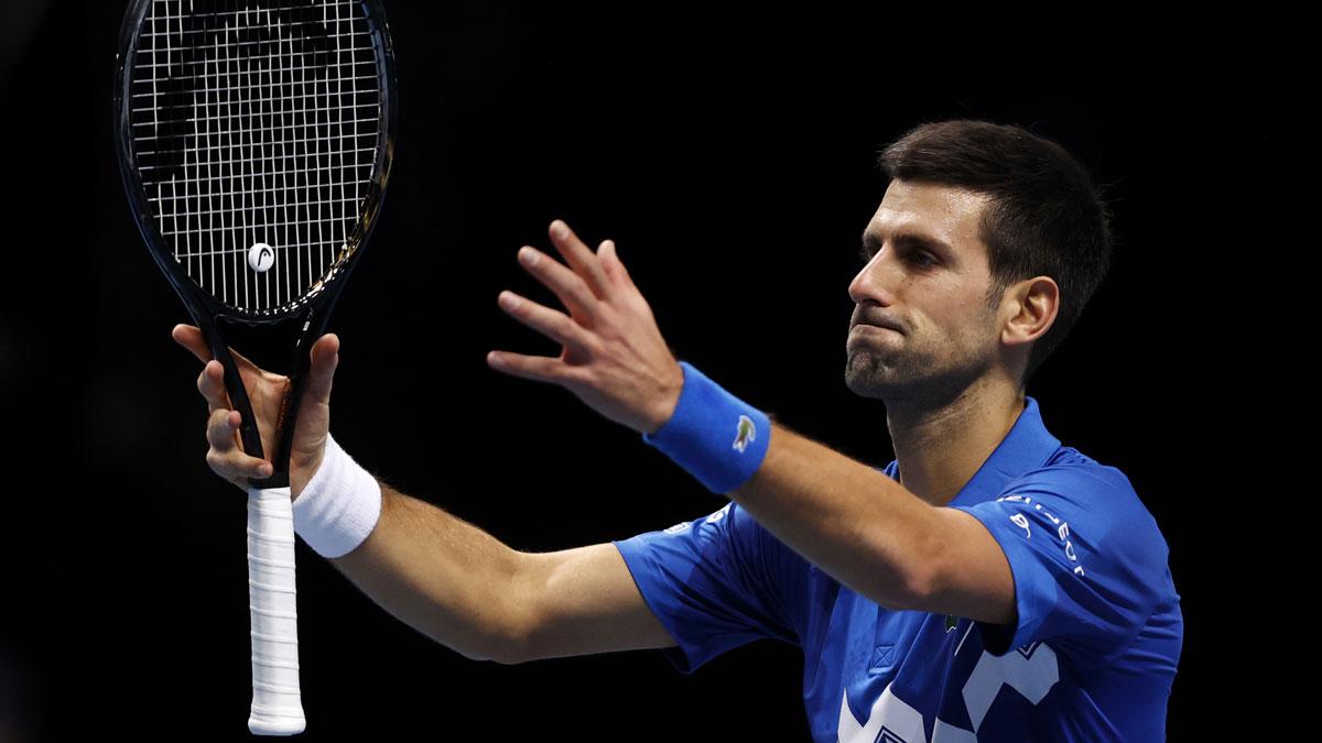 Djokovic, durante la pasada Copa de Maestros (Getty)