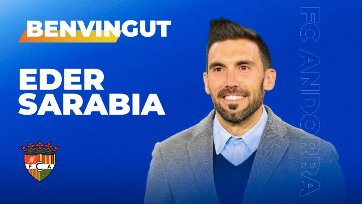 Eder Sarabia, nuevo entrenador del Andorra. (FC Andorra)