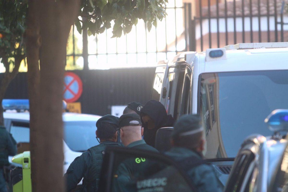 Llegada a los juzgados de Fuengirola de 'El Melillero' (Foto: Europa Press/Alex Zea).