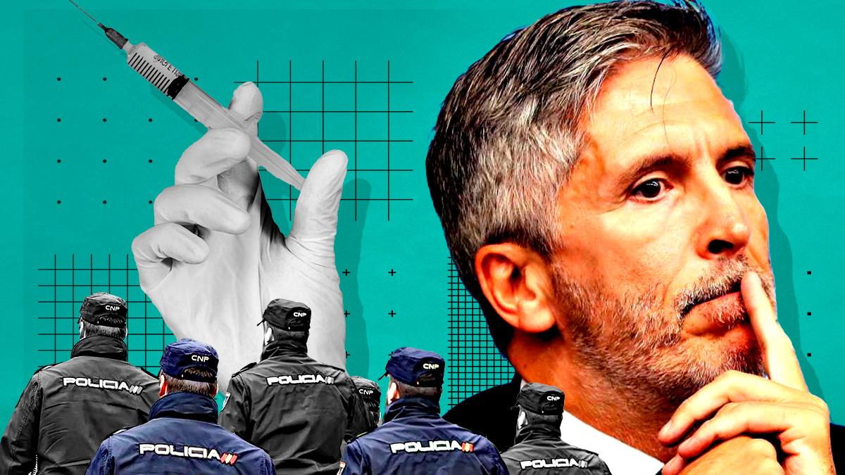 Los policías de La Línea exigen PCR a Marlaska: «No queremos otro muerto como el agente que vino de Canarias»