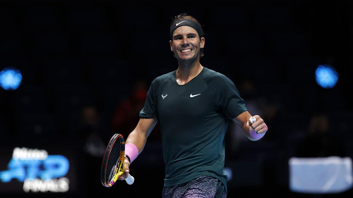 Nuevo récord de Nadal: 800 semanas consecutivas en el top 10 de la ATP (Getty)