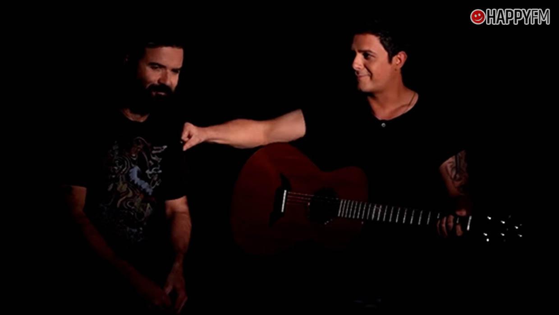 Pau Donés y Alejandro Sanz