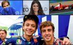 Las curiosas 'vidas paralelas' de Fernando Alonso y Valentino Rossi