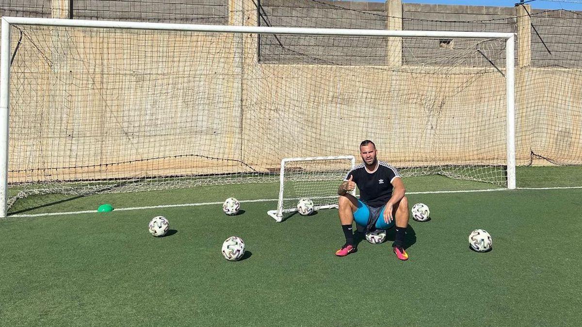 Jesé Rodríguez, tras unos de sus entrenamientos en Las Palmas de Gran Canaria. (@jeserodriguez10)