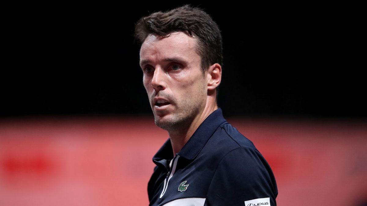 Bautista, uno de los tenistas aislados en Australia (Getty)