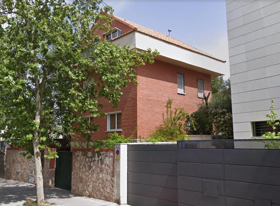 Este es el casoplón de 4 plantas que el atracador de bancos de Podemos tiene en una zona top de Madrid