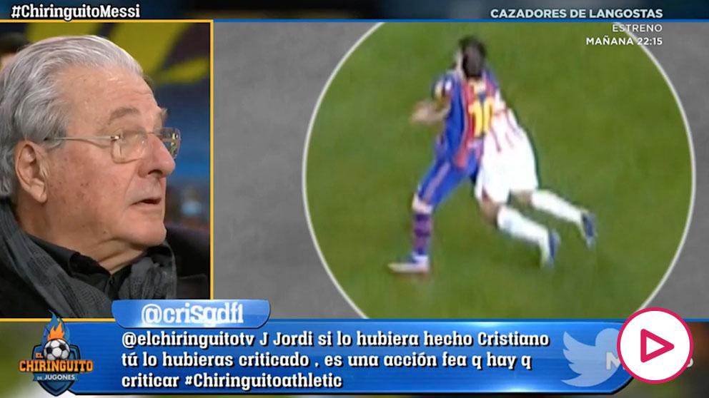 D'Alessandro se hace viral por su surrealista defensa a Messi tras su agresión
