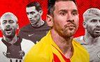 Los favoritos de Messi: Neymar, Agüero y Di María