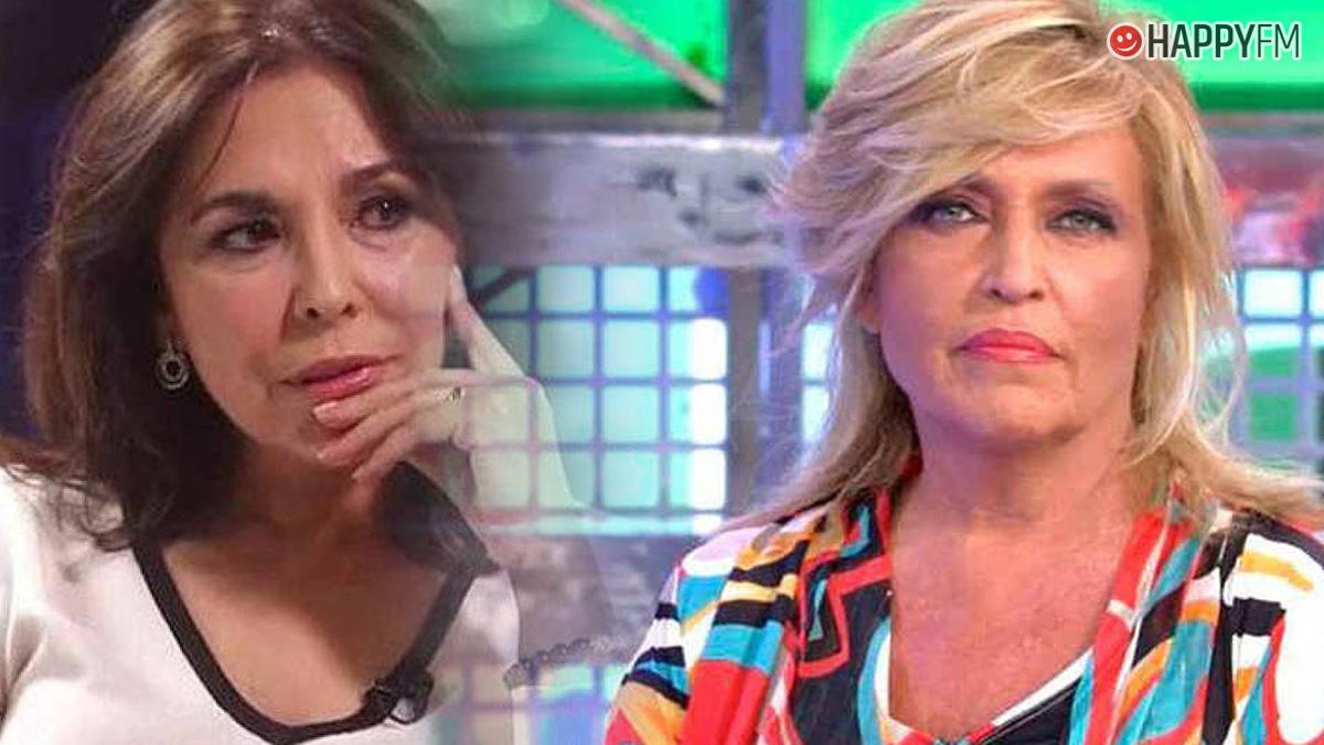 Isabel Gemio y Lydia Lozano