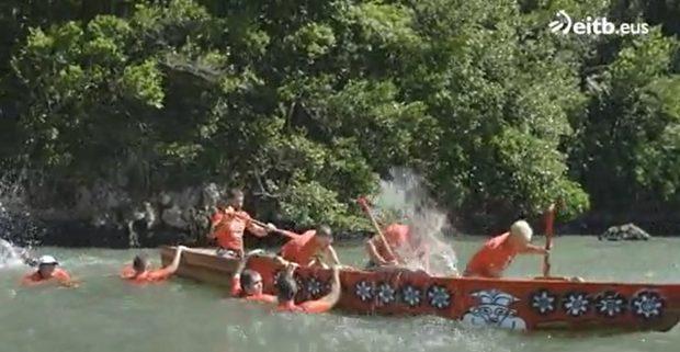 El conquistador del fin del mundo: El equipo rojo tuvo problemas para mantener a flote la barca
