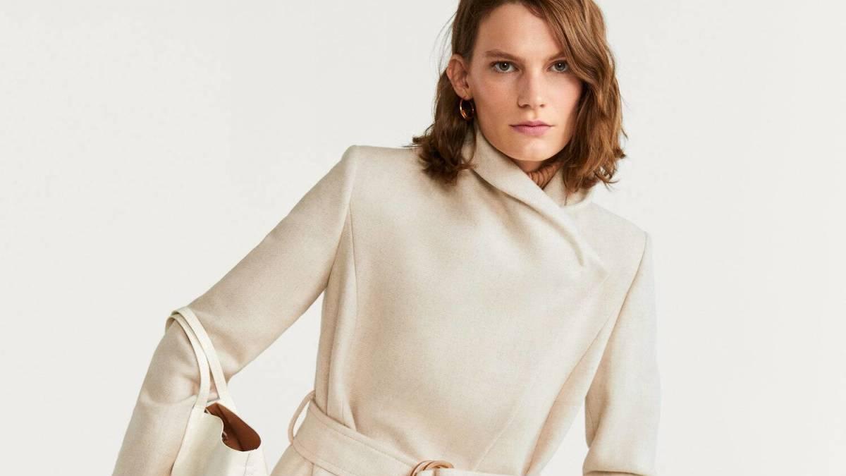 Los abrigos de lana son tendencia cuando llega el invierno