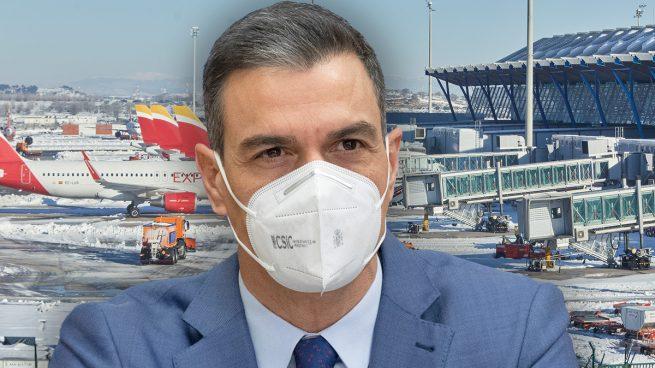 Un informe de Sanidad alerta del «impacto potencial» de las nuevas cepas pero Sánchez no suspende vuelos