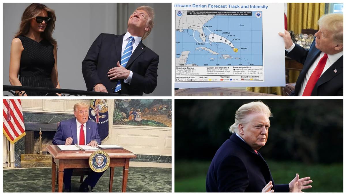 Los mejores momentos de Donald Trump.