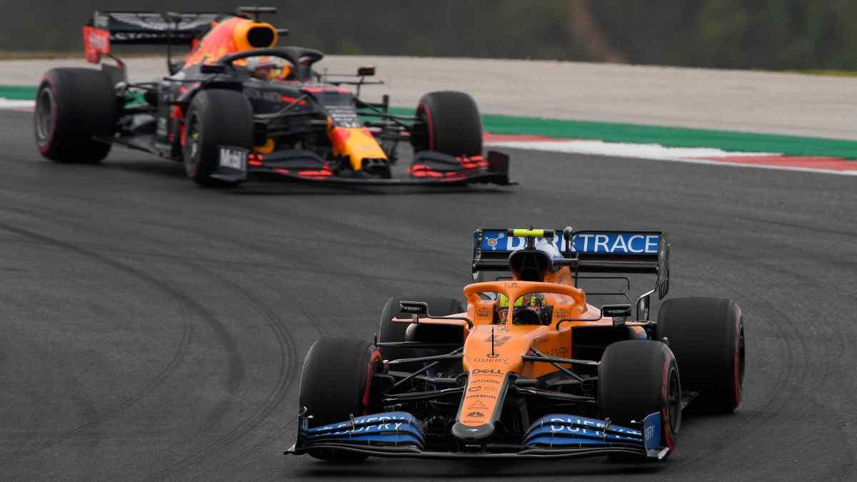 Red Bull y McLaren. (AFP)
