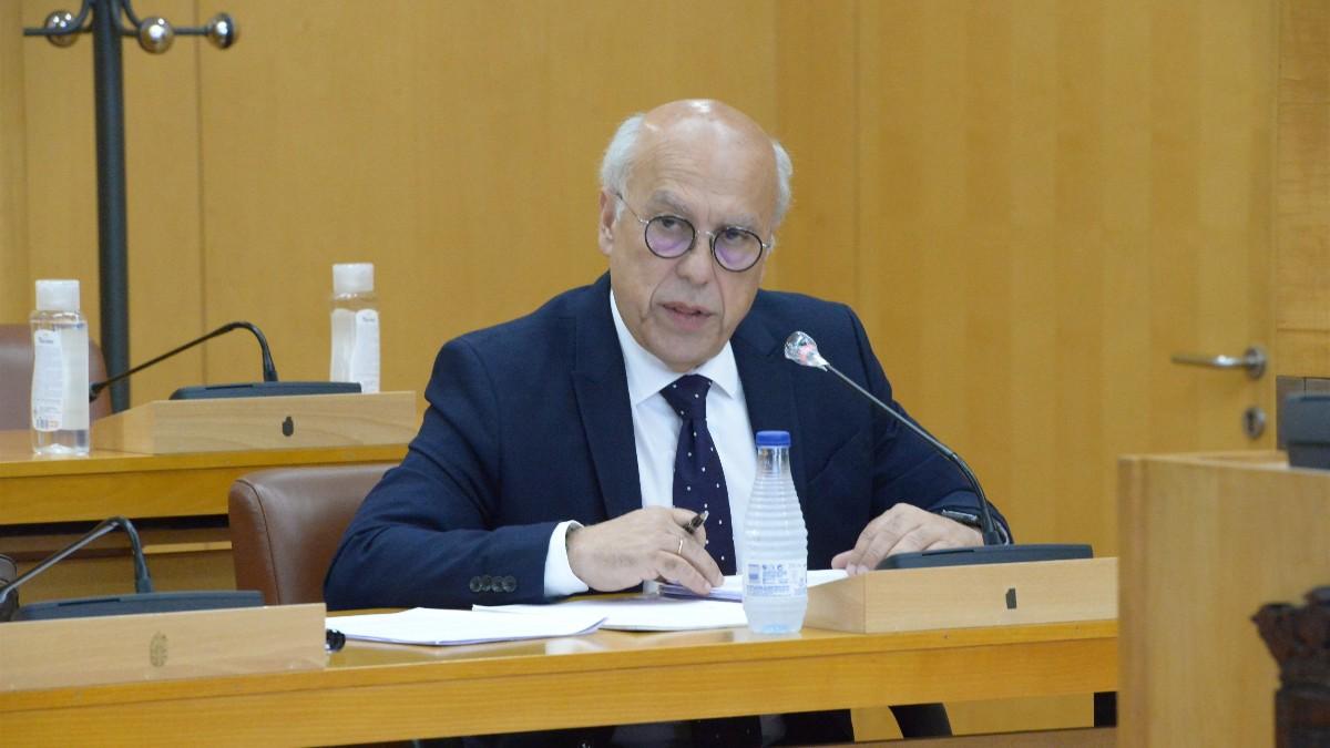 El consejero de Sanidad de Ceuta, Javier Guerrero, en una imagen de archivo. (GOBIERNO DE CEUTA)