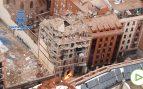 Así se ve la explosión de la calle Toledo desde el aire