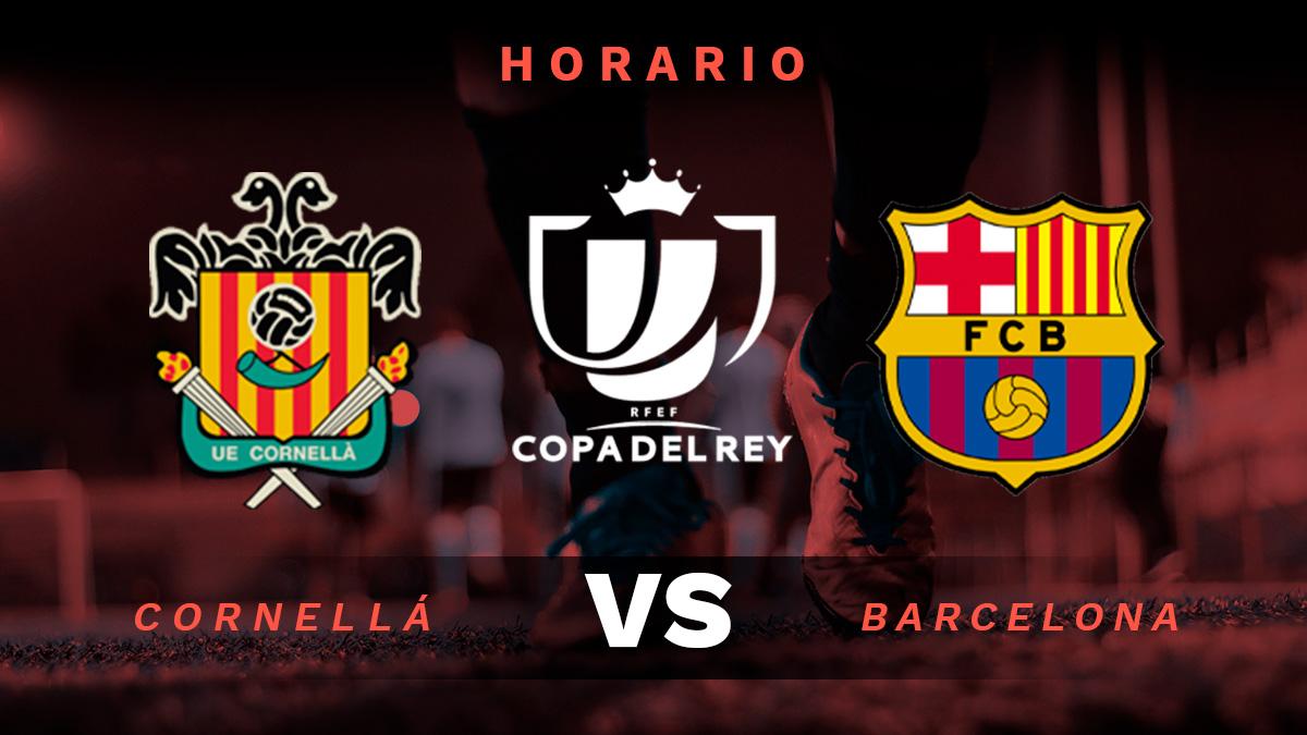 Copa del Rey 2020-2021: Cornellá – Barcelona | Horario del partido de fútbol de la Copa del Rey.