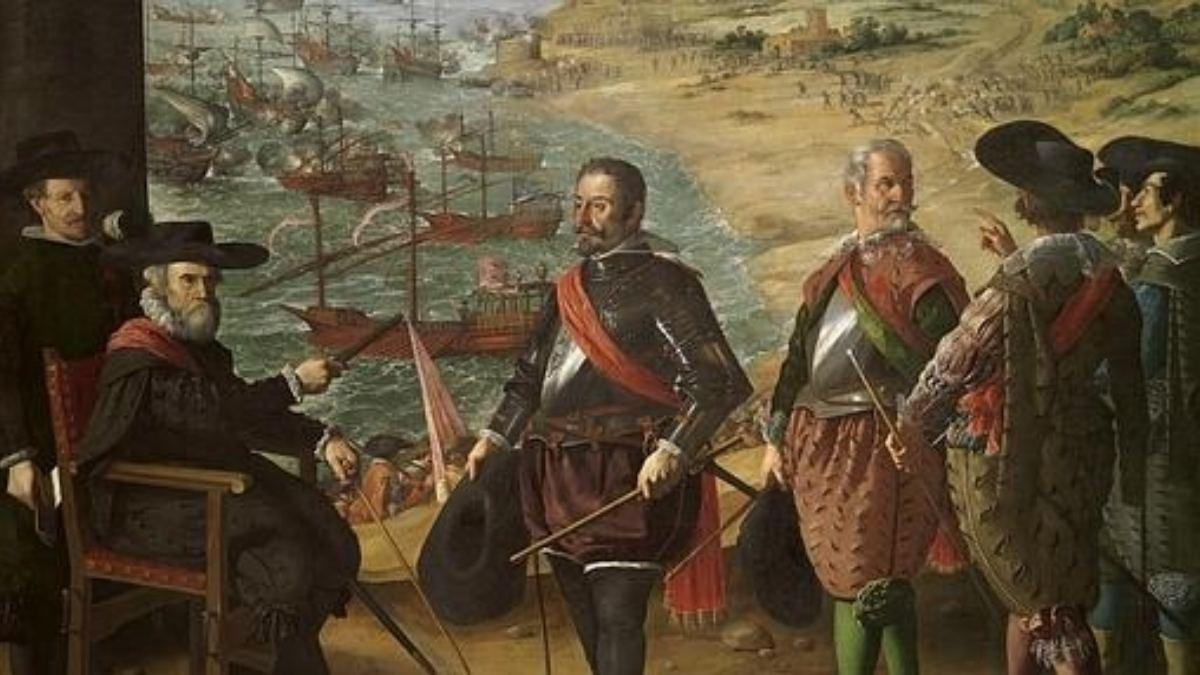 'Defensa de Cádiz' obra realizada por Zurbarán