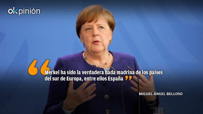 ¡Se va Merkel y se te acaba el chollo, Sánchez!