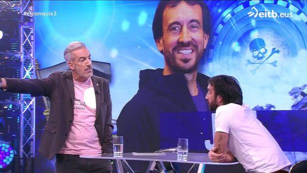 Patxi Alonso expulsa a un concursante de 'El conquistador del fin del mundo' del plató por su actitud