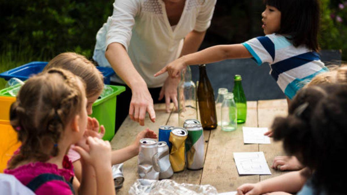 Descubre cómo enseñar a los niños educación ambiental