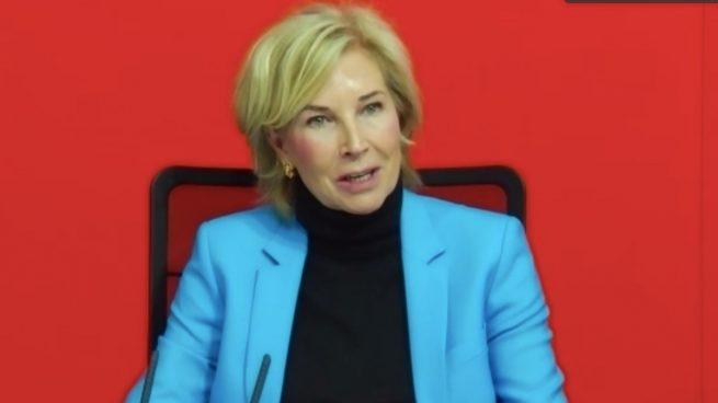 Dolores Dancausa, consejera delegada de Bankinter, habla sobre Línea Directa