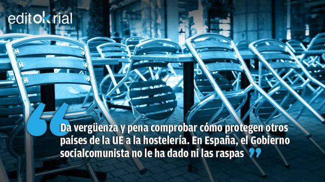 El «escudo social» a la hostelería de Sánchez: ni un solo euro