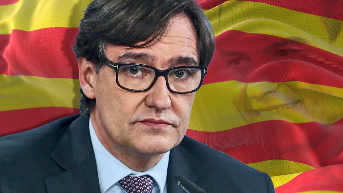 Salvador Illa, ministro de Sanidad y candidato del PSC.