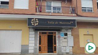 El hotel Villa de Mairena, reconvertido a escondidas en centro de acogida.