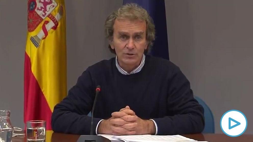 Fernando Simón, director del Centro de Alertas y Emergencias Sanitarias (CAES).