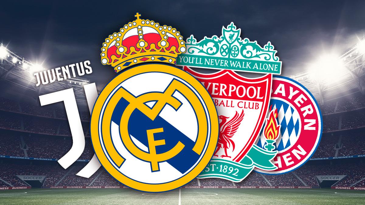 La Superliga cuenta con el apoyo pleno de Real Madrid, Juventus, Liverpool y Bayern.