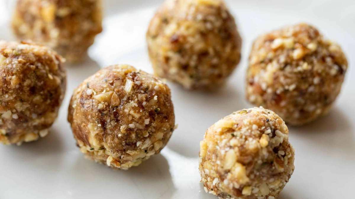 Energy balls: 5 recetas fit de bolas energéticas, sin horno