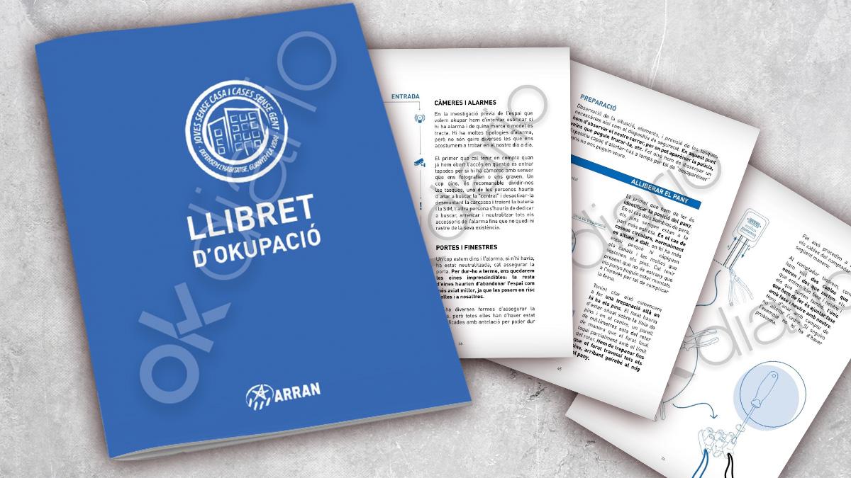 La organización juvenil independentista ARRAN publica un manual para la okupación de viviendas.