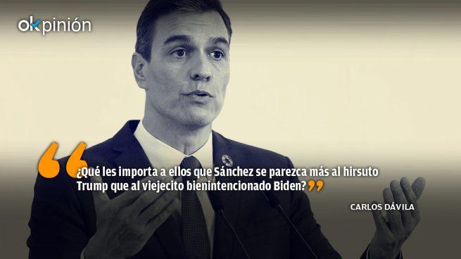 Adiós Trump, Sánchez se queda