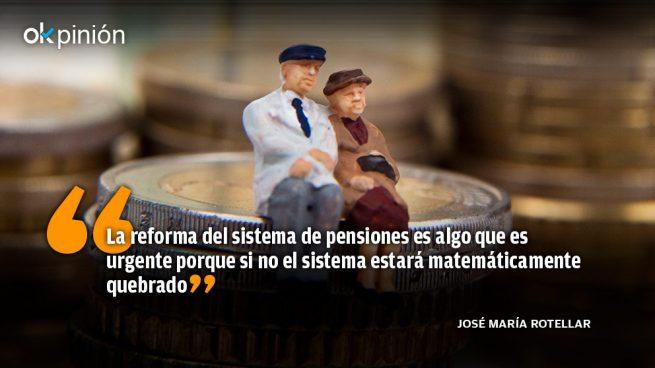 Las pensiones han de ser reformadas