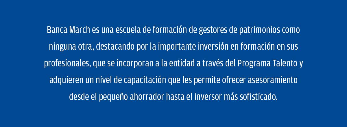 Banca March, mejor banco para trabajar en España, según Great Place to Work