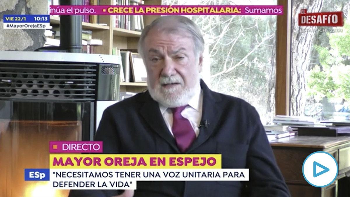Jaime Mayor Oreja en 'Espejo Público'
