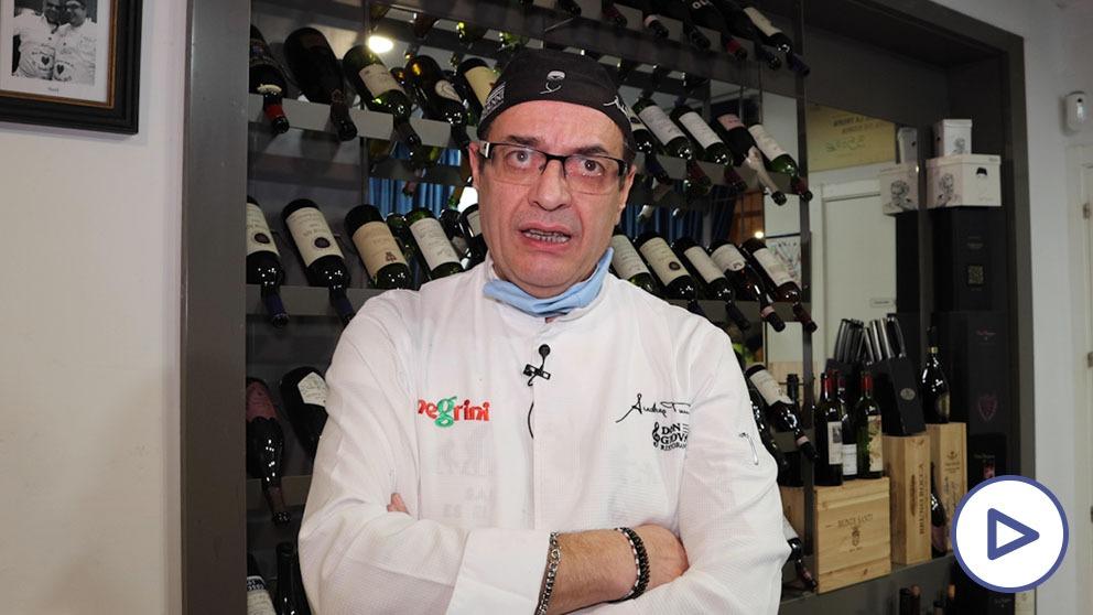 Andrea Tumbarello, propietario del restaurante Don Giovanni.