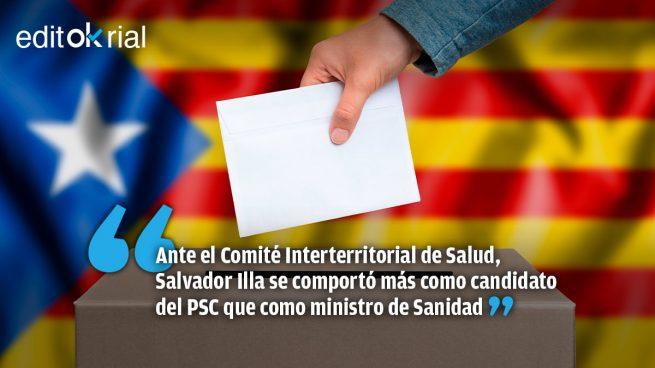 Elecciones catalanas: entre menos contagios o más votos, Sánchez elige los votos