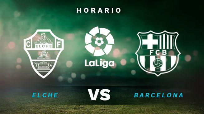 Horario Elche Barcelona