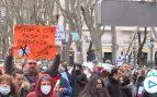Centenares de negacionistas se manifiestan en Madrid: «Illa, Illa, Illa, fuera mascarillas»