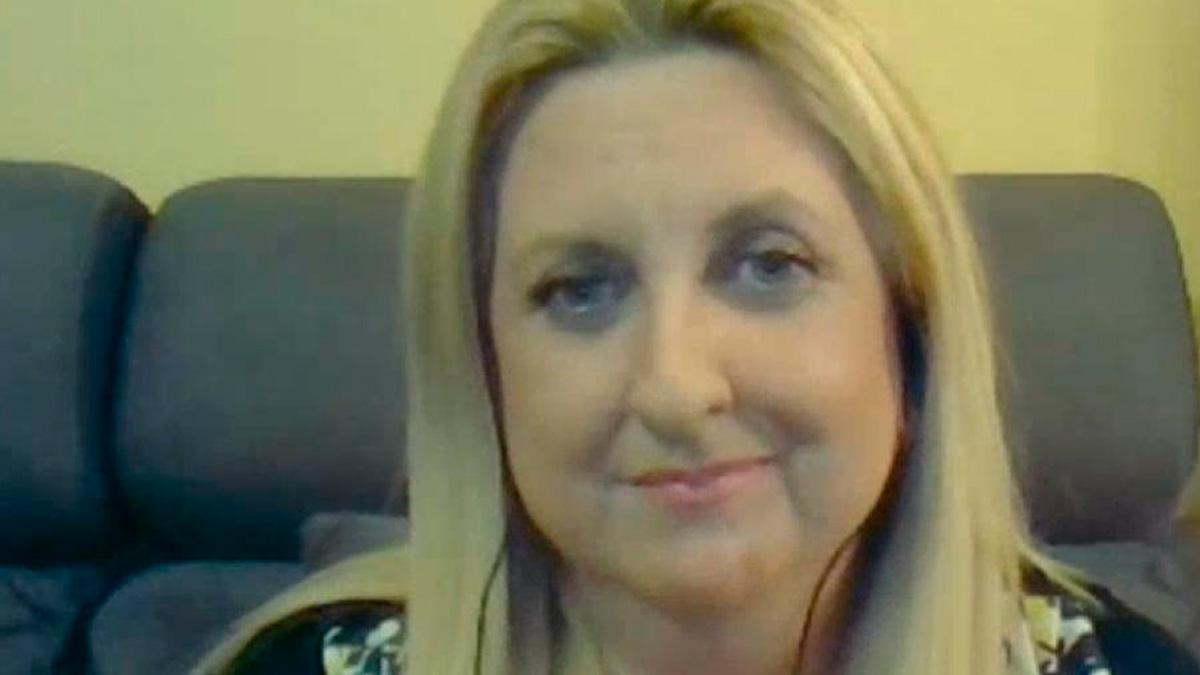 Sonia Garrido. Madre de tres hijos que ha recibido 18,09 euros con el  Ingreso Mínimo Vital que Sánchez e Iglesias defendieron como «escudo social» ante la pandemia.
