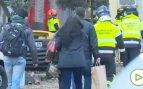 Recogen sus pertenencias los vecinos desalojados por la explosión en el centro de Madrid