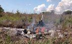 Accidente avión Brasil