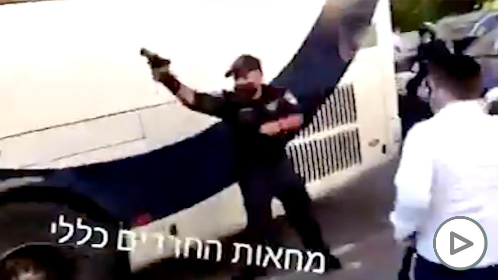 policia israel judios restricciones
