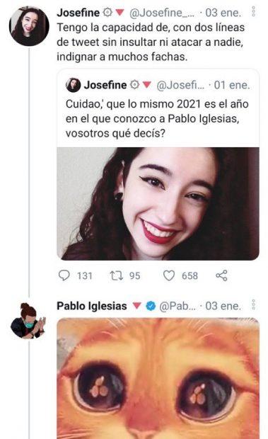 La nueva 'intelectual' de Pablo Iglesias: «Me he comprado unas botas para patear nazis»
